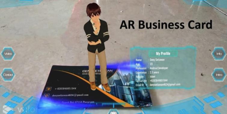 AR Business card - AR name card