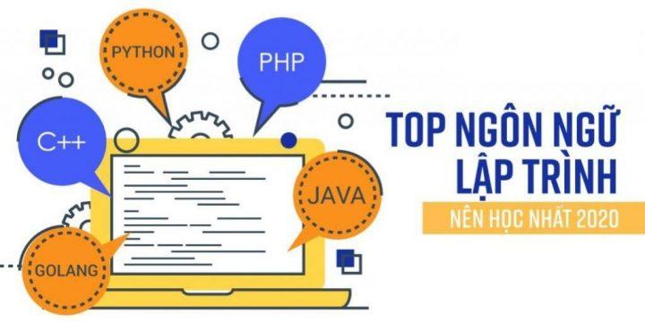 Top ngôn ngữ lập trình dành cho người mới bắt đầu