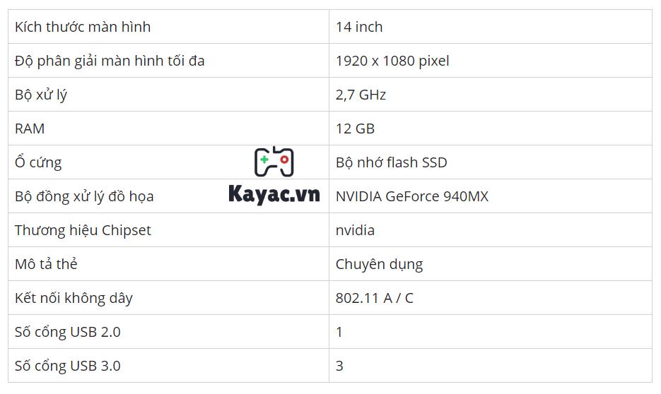Chi tiết cấu hình laptop cho lập trình Asus P-Series P2440UQ-XS71