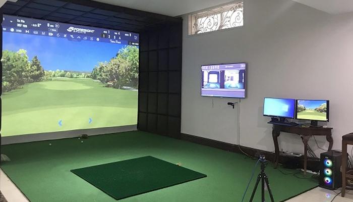 Một số lưu ý khi xây dựng phòng tập golf 3D tại nhà