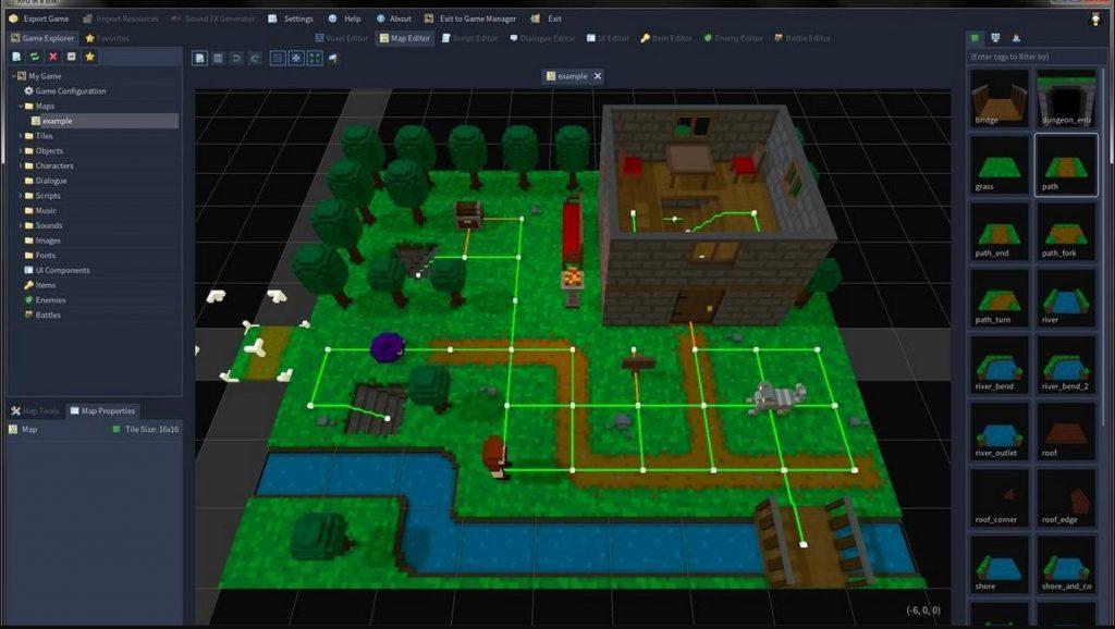 Công cụ tạo game 2D và 3D Godot