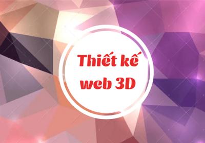 Web 3D là gì? Thiết kế website 3D khác gì website thường?