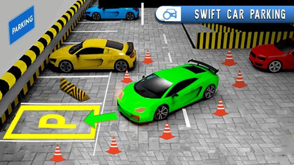 Phần mềm hiện đại Xe hơi Lái xe Đậu xe
