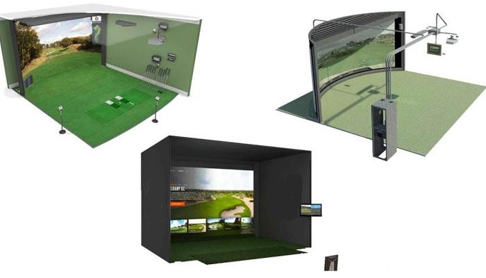 Cấu tạo của một phòng tập Golf 3D